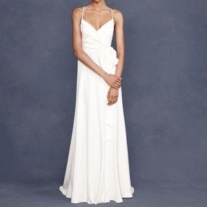 J.Crew ivory Goddess Wedding gown 4P NWT